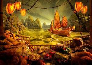 barco mágico
