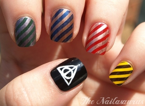 manicure_harry potter