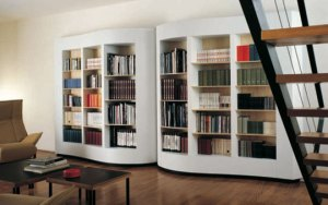 estante moderna para livros 2