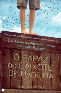 O Rapaz do Caixote de Madeira editorial presença