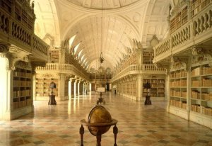 1.biblioteca.PalciodeMafraPORTUGAL