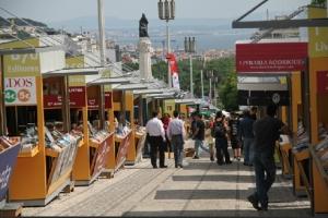 feira do livro de Lisboa ruas